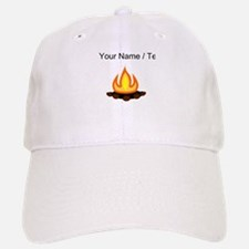 Custom Camp Fire Baseball Baseball Baseball Cap