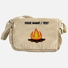 Custom Camp Fire Messenger Bag