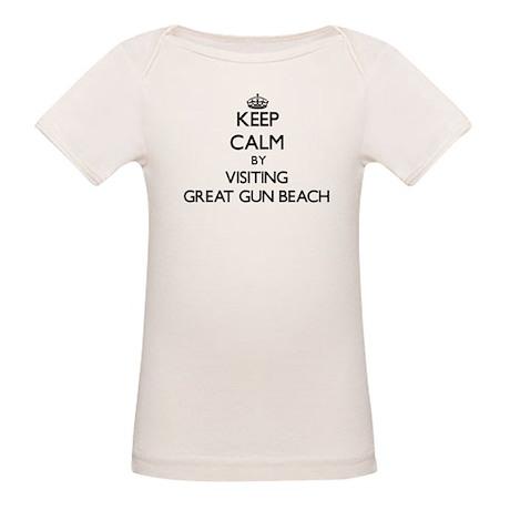 Keep calm by visiting Great Gun Beach New York T-S