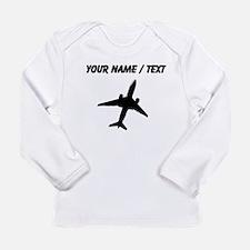 Custom Airplane Long Sleeve T-Shirt