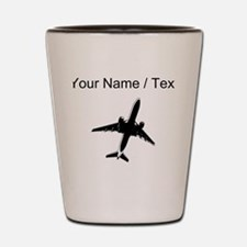 Custom Airplane Shot Glass
