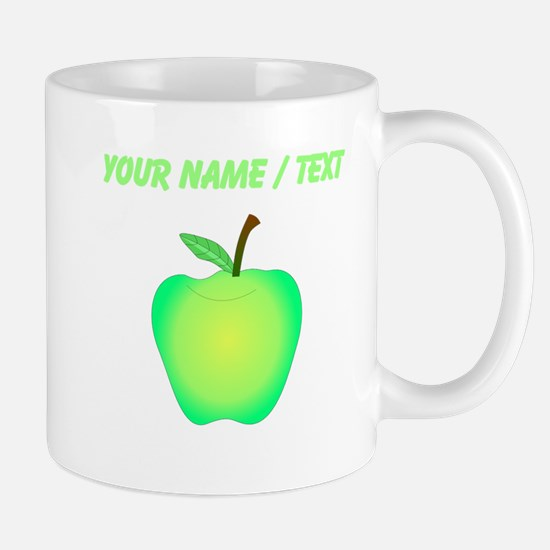 Custom Green Apple Mugs