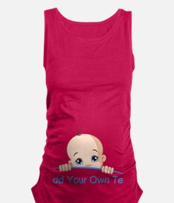 Cool Let me out Maternity Tank Top