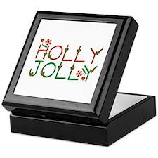 Holly Jolly Keepsake Box