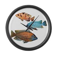 Cichlid Treo Large Wall Clock