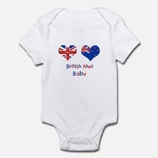 British Kiwi Baby Infant Bodysuit