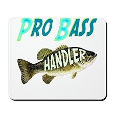 Pro bass fishing gifts and t' Mousepad