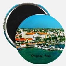 Orenjestad Aruba Magnets