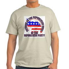 Republican Wing of the GOP Ash Grey T-Shirt