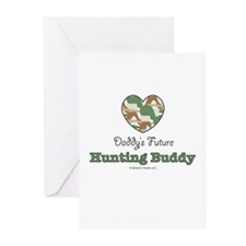 Daddy's Future Hunting Buddy Greeting Cards 10pk