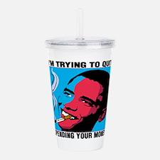 president.png Acrylic Double-wall Tumbler