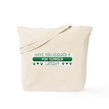 Hugged Foxy Tote Bag