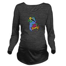 Alabama.png Long Sleeve Maternity T-Shirt