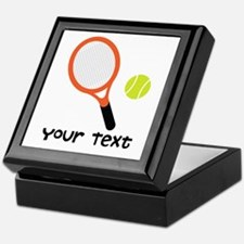Personalized Tennis Keepsake Box