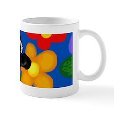 Boston Terrier flowers Mug
