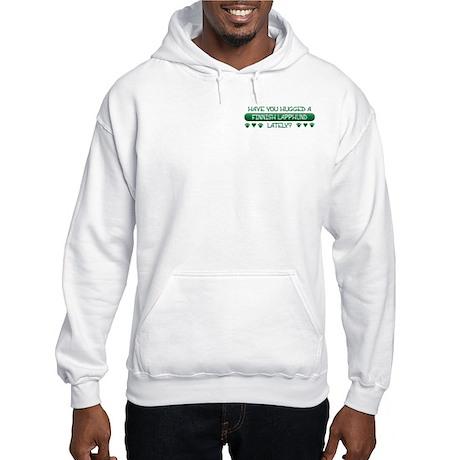 Hugged Lapphund Hooded Sweatshirt