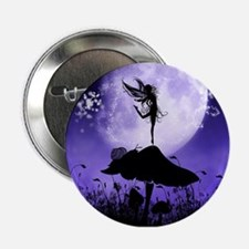 "Fairy Silhouette 2 2.25"" Button"