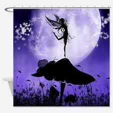 Fairy Silhouette 2 Shower Curtain