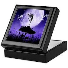 Fairy Silhouette 2 Keepsake Box