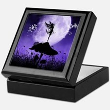 Fairy Silhouette 2 Keepsake Box
