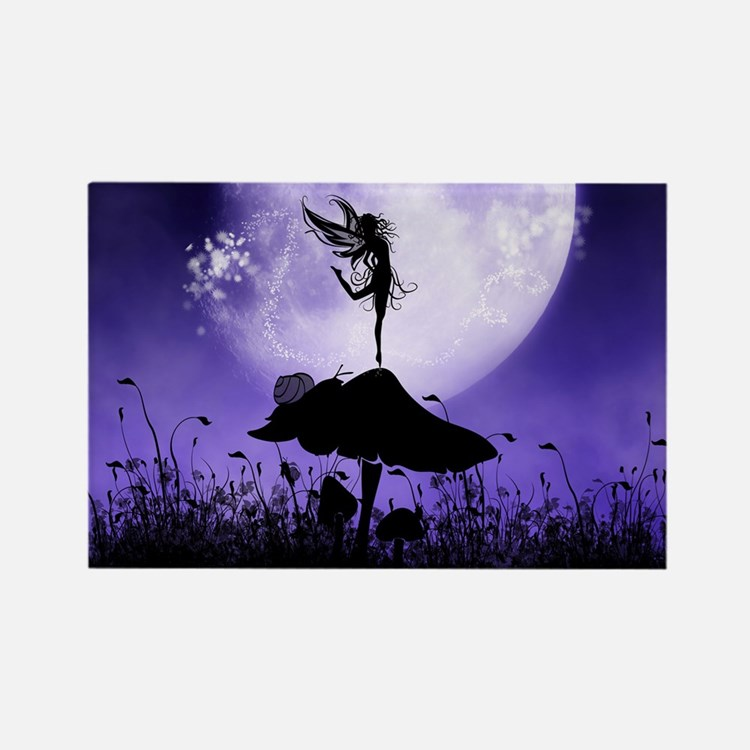 Fairy Silhouette 2 Magnets