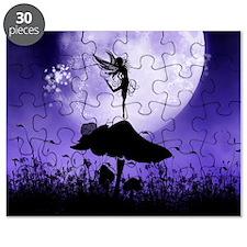 Fairy Silhouette 2 Puzzle