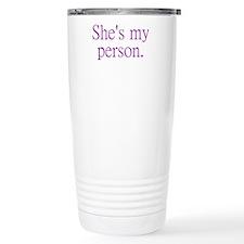 Cute Sex relationships Thermos Mug