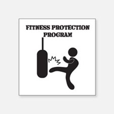 Fitness Protection Program Sticker