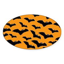 Halloween Bat Pattern Decal