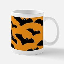 Halloween Bat Pattern Mugs