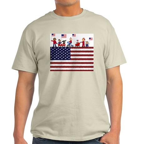 July 4th Light T-Shirt