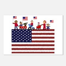 July 4th Postcards (Package of 8)