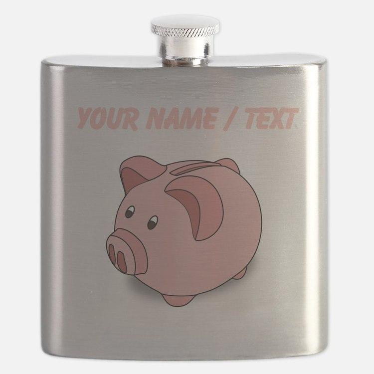 Custom Piggy Bank Flask