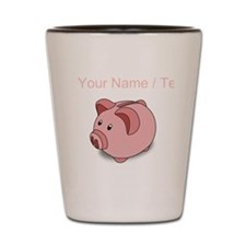 Custom Piggy Bank Shot Glass