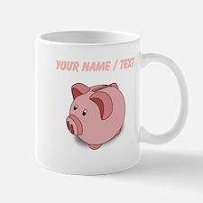 Custom Piggy Bank Mugs