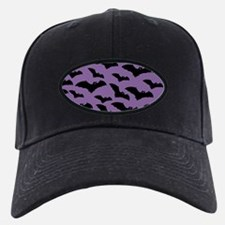 Spooky Halloween Bat Pattern Baseball Hat