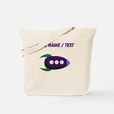 Custom Cartoon Rocket Tote Bag