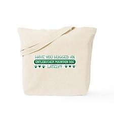 Hugged Entlebucher Tote Bag