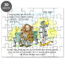 Aqualung, My Ex-Friend Puzzle