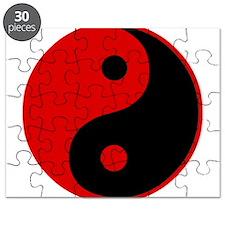 Unique Yin yang Puzzle