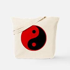 Funny Yin yang Tote Bag