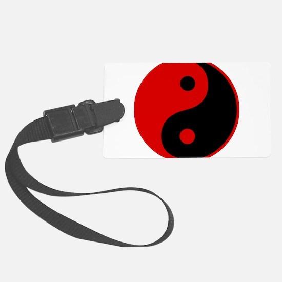 Funny Yin yang Luggage Tag