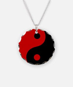 Unique Ying and yang Necklace
