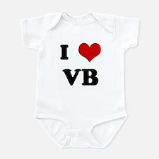 I Love VB Infant Bodysuit