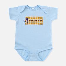 Tennis Fan Orange Infant Bodysuit