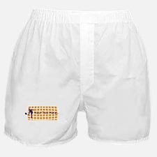 Tennis Fan Orange Boxer Shorts