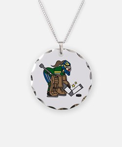 Goalie Girl Necklace