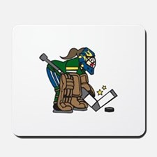 Goalie Girl Mousepad