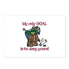 My Only Goal Postcards (Package of 8)