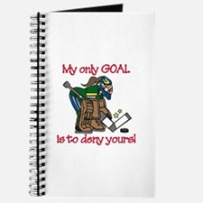 My Only Goal Journal